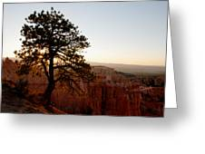 Sunrise Over Bryce Canyon Greeting Card