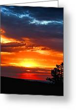 Sunrise Over Keystone Greeting Card