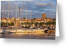 Sunrise Over La Ciotat France Greeting Card