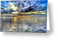 Sunset Over Lake Ontario Greeting Card