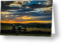 Sunrise Over Little Round Top Greeting Card