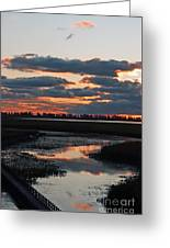 Sunrise Over Point Pelee Provincial Park Greeting Card