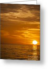 Sunrise Over The Sea Of Cortez Greeting Card