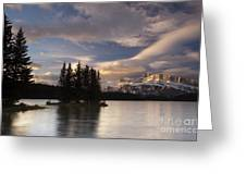 Sunrise Over Two Jack Greeting Card