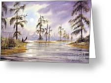Sunrise Over Wakulla River Greeting Card