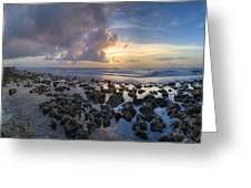 Sunrise Panorama Greeting Card