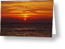 Sunrise Peek 2 12/3 Greeting Card