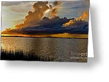 Sunrise Rain Greeting Card
