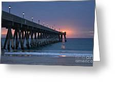 Sunrise Reflections Greeting Card