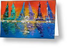 Sunrise Sail Greeting Card