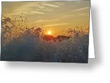 Sunrise Splash 1 9/05 Greeting Card