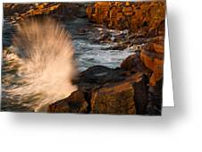 Sunrise Splash Greeting Card