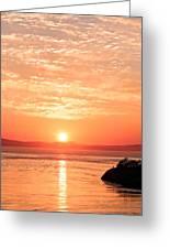 Sunrise - Sunset Greeting Card
