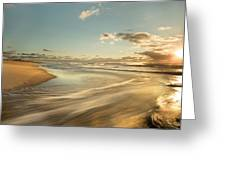 Sunrise Surf Greeting Card