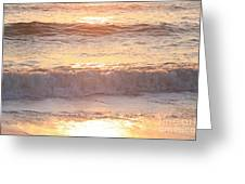 Sunrise Waves Greeting Card