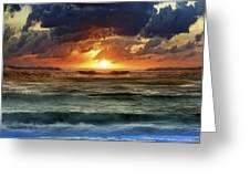 Sunset 12 Greeting Card