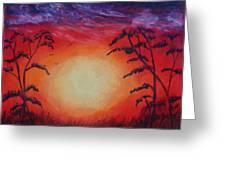 Sunset 1 Greeting Card