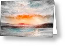 Sunset 111 Greeting Card