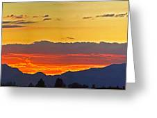 Sunset 20130926 Greeting Card
