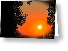 Sunset 365 18 Greeting Card