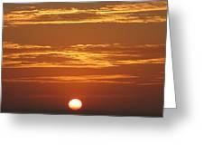 Sunset 501 Greeting Card