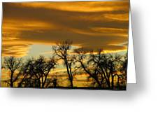 Sunset 7 Greeting Card