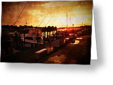 Sunset After The Rainstorm Greeting Card