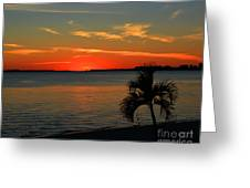 Sunset Afterglow Greeting Card