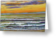 Sunset Along Maine Coast Greeting Card