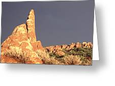 Sunset  Arches National Park Greeting Card