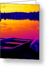 Sunset At Blackwell Greeting Card