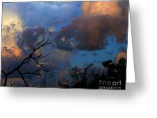 Sunset At Clam Pass Greeting Card