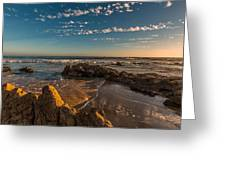 Sunset At Crystal Cove 12 Greeting Card