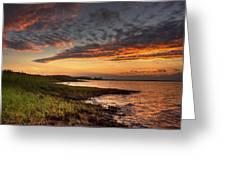 Sunset At Kent Narrows Greeting Card