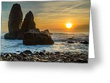 Sunset At The World's End II Greeting Card