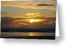 Sunset At Westport  Greeting Card