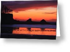 Sunset Bay Sunset 2 Greeting Card