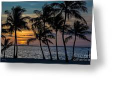 Sunset Breeze Greeting Card