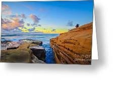 Sunset Cliffs Ave Greeting Card
