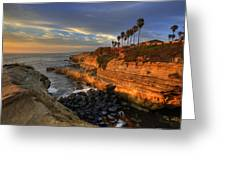 Sunset Cliffs Greeting Card
