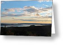 Sunset Dore Mountain Greeting Card