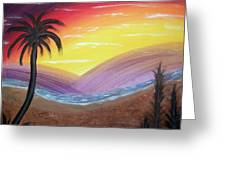 Sunset Escape Greeting Card