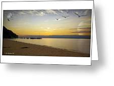 Sunset Fantasy  Greeting Card