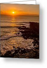 Sunset Far Away Greeting Card