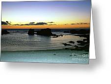 Sunset Gone Greeting Card