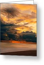 Sunset Grandeur Greeting Card
