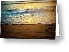 Sunset Hanalei Greeting Card
