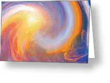 Sunset Illusions Greeting Card