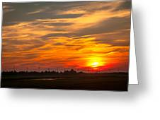 Sunset In Avalon Greeting Card