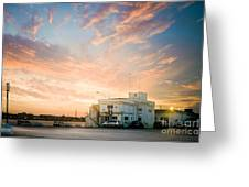 Sunset In Bari Greeting Card